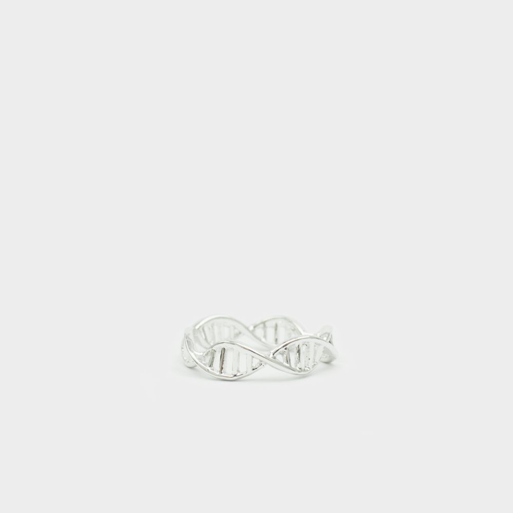 DNS Ring Silber