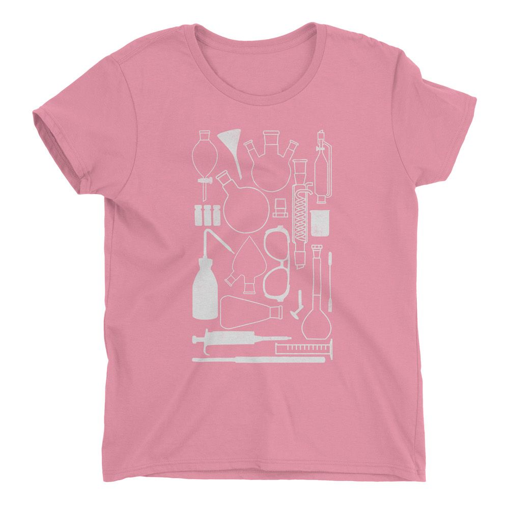 Laborgeräte-T-Shirt-Charity-Pink-880