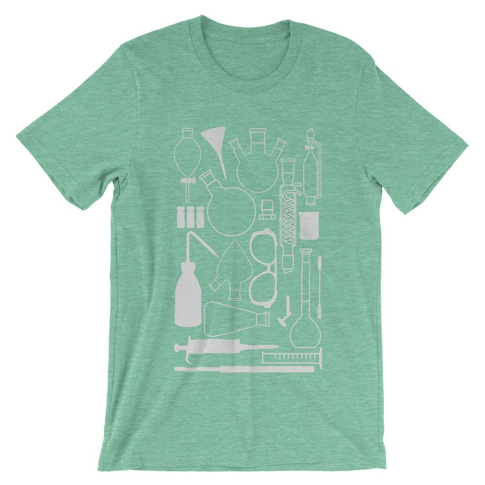 Laborgeräte-T-Shirt-Heather-Mint-3001
