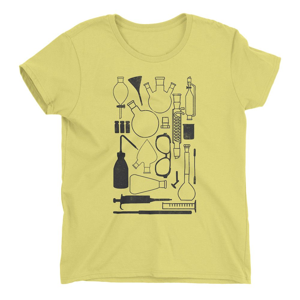 Laborgeräte-T-Shirt-Spring-Yellow-880