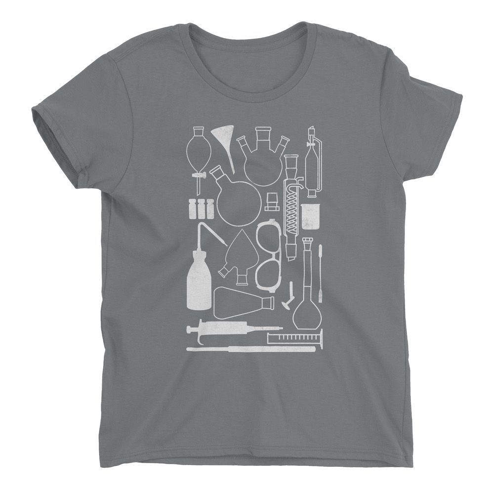 Laborgeräte-T-Shirt-Storm-Grey-880