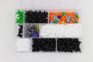 Molekülbaukasten Organische Chemie viele Teile