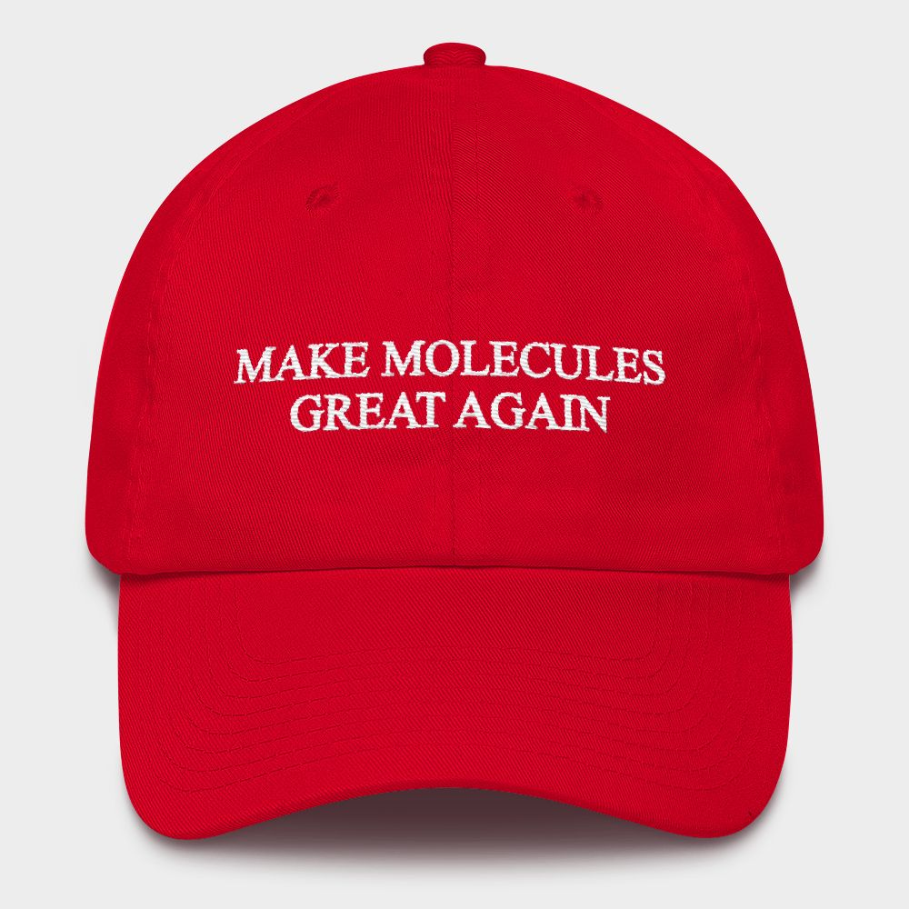 MAKE MOLECULES GREAT AGAIN Cap