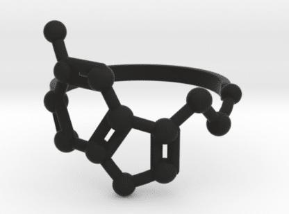 Serotonin Ring Nylon Schwarz