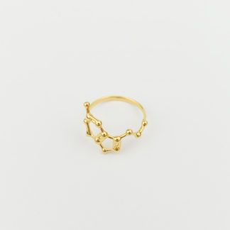 Serotonin Ring 18k Gold