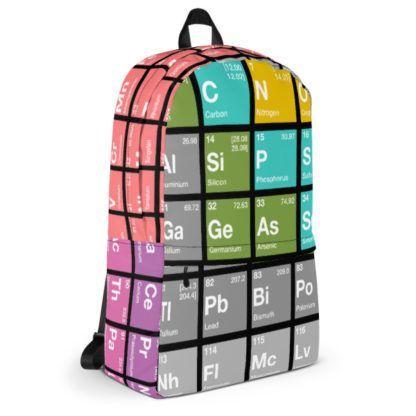 Periodensystem der Elemente Rucksack Seite