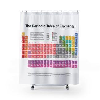 Periodensystem der Elemente Duschvorhang