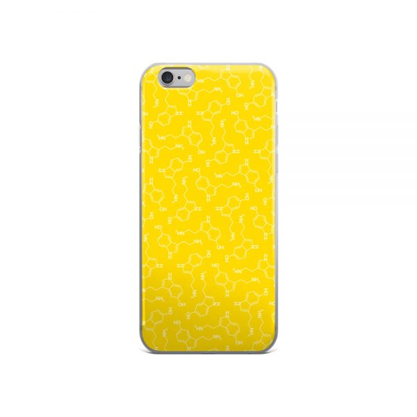 Serotonin Molecule iPhone 6 Case