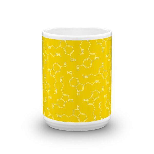Lots of Serotonin Mug Yellow