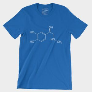 Adrenaline Moleculestore T-Shirt Royal Blue