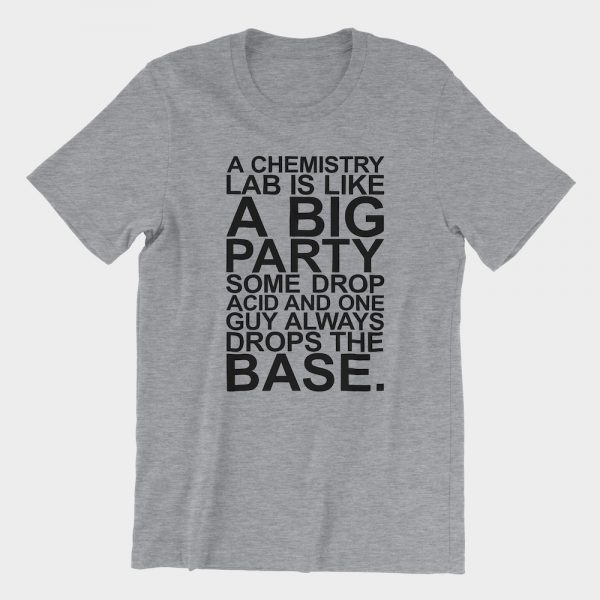 Chemistry Lab Party T-Shirt Athletic Heather