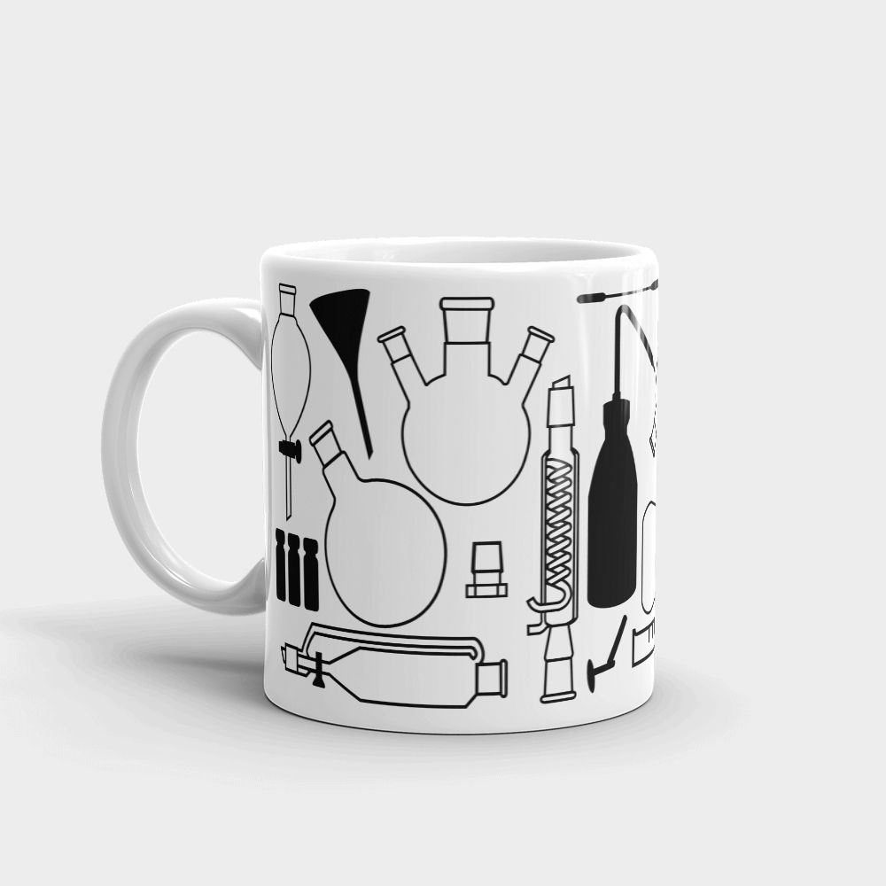 Lab Stuff Mug White