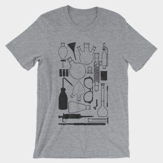 Lab Stuff T-Shirt Athletic Heather Black
