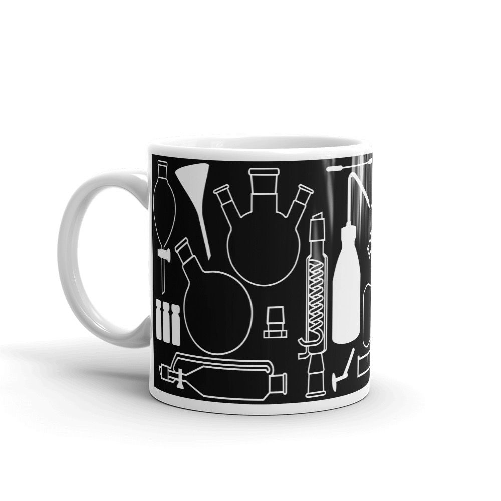 Lab Stuff White Mug 11oz Handle-on-Left