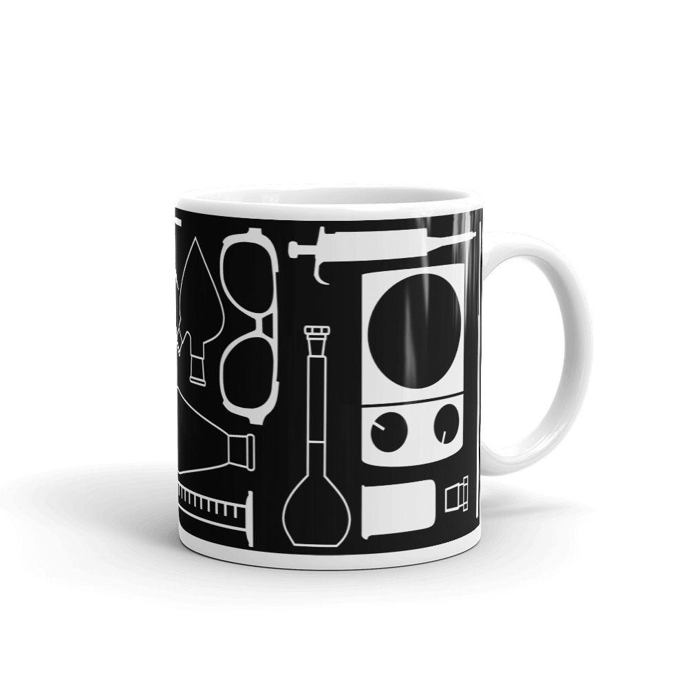 Lab Stuff White Mug 11oz Handle-on-Right