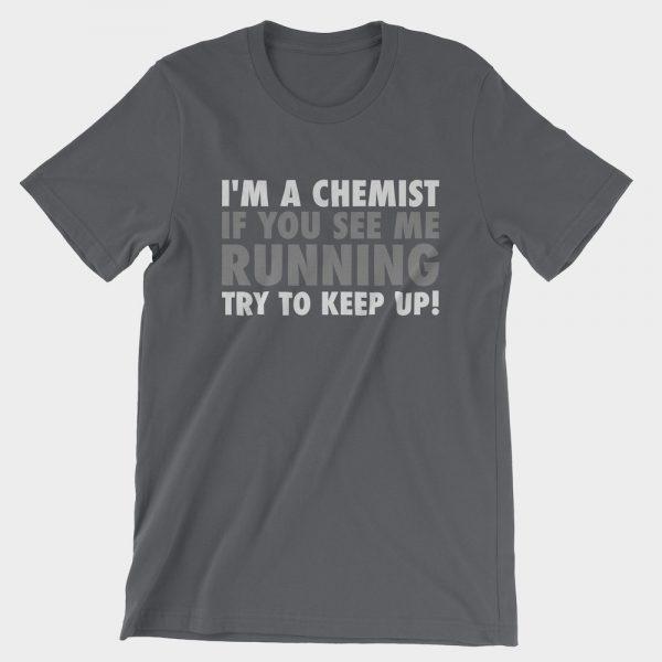 Running Chemist T-Shirt Asphalt