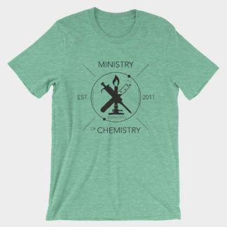 Ministry of Chemistry T-Shirt Heather Mint