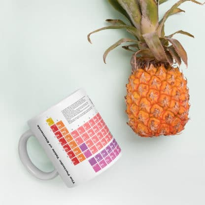 Periodic Table Mug Pineapple