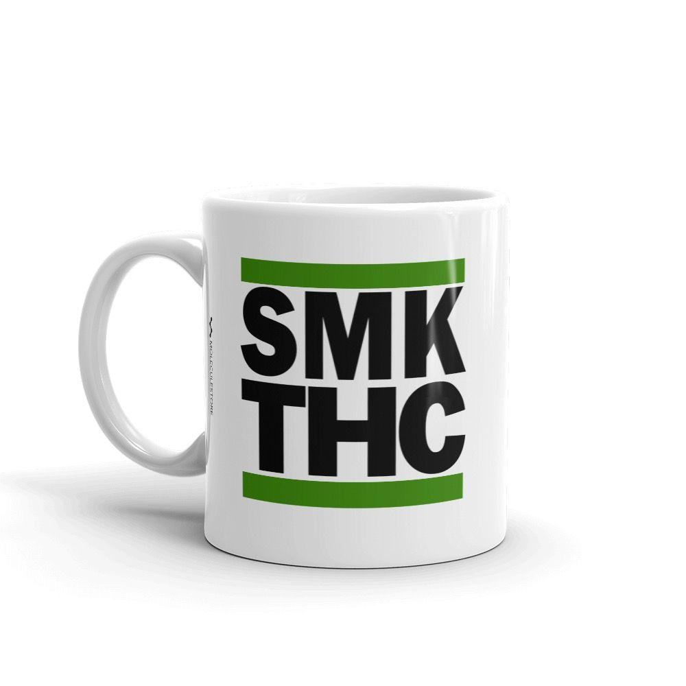 SMK THC Mug White 11oz Left