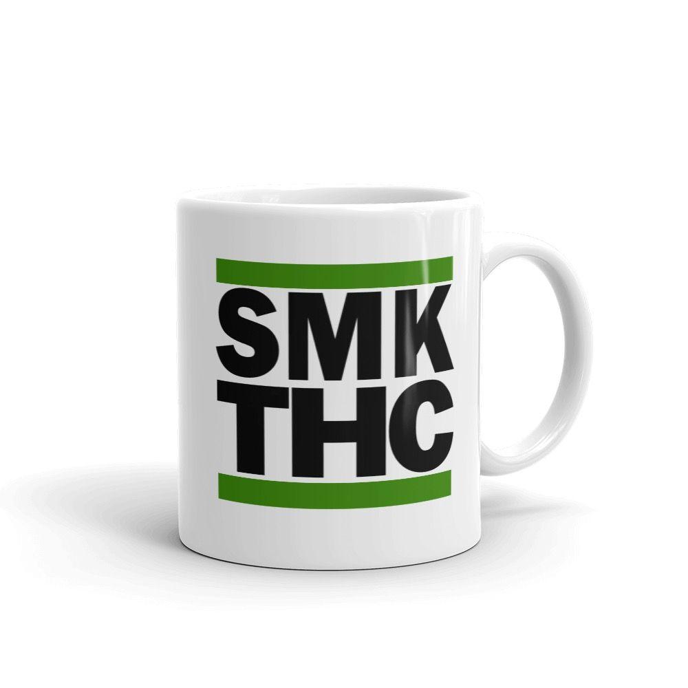 SMK THC Mug White 11oz Right