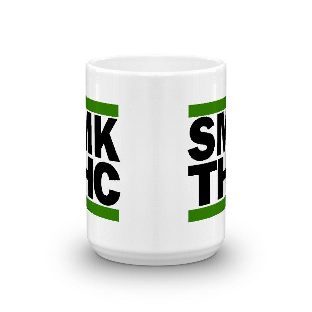 SMK THC Mug White 15oz Center