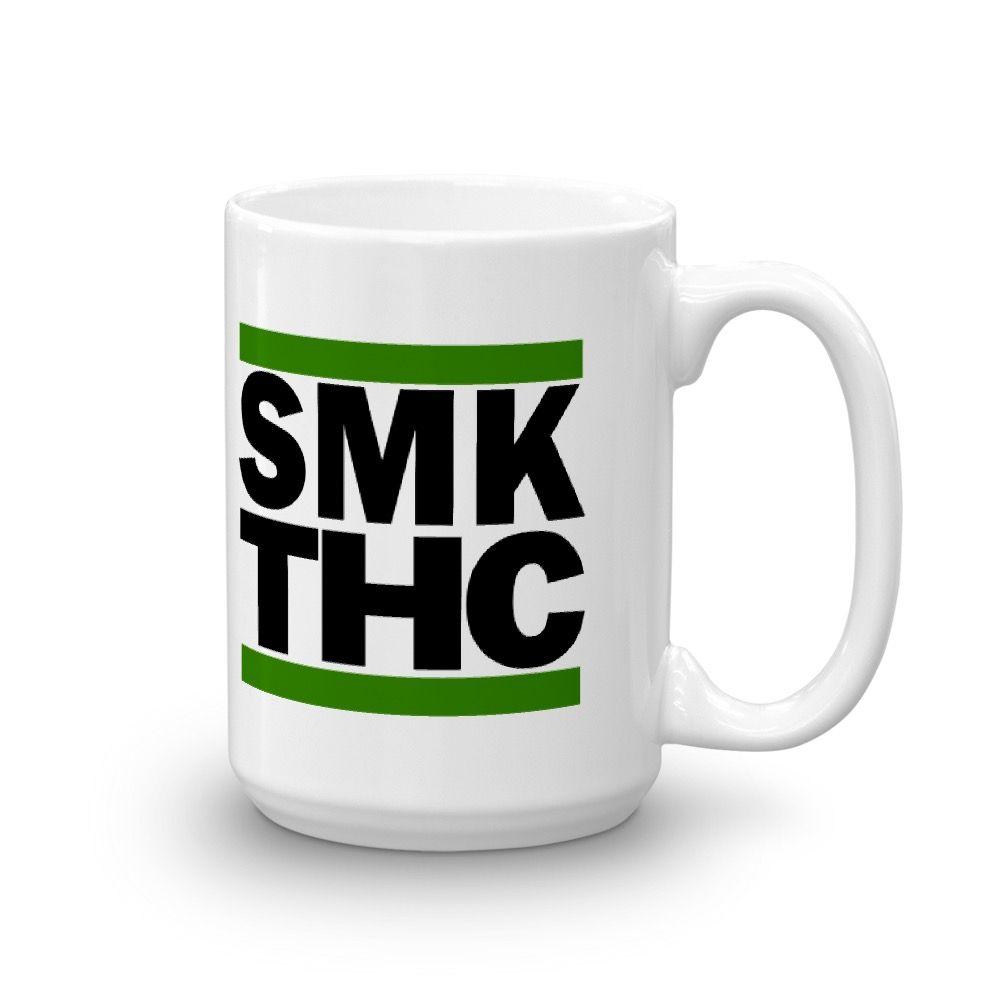 SMK THC Mug White 15oz Right