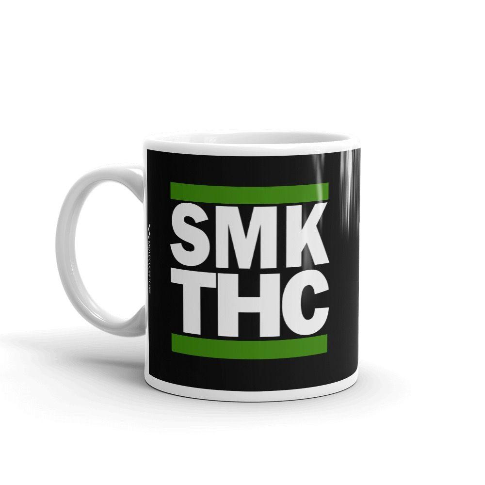 SMK THC Mug Black 11oz Left