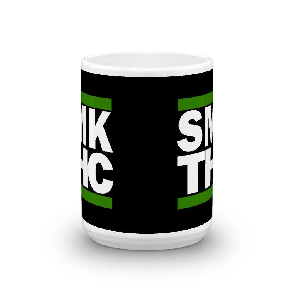 SMK THC Mug Black 15oz Center