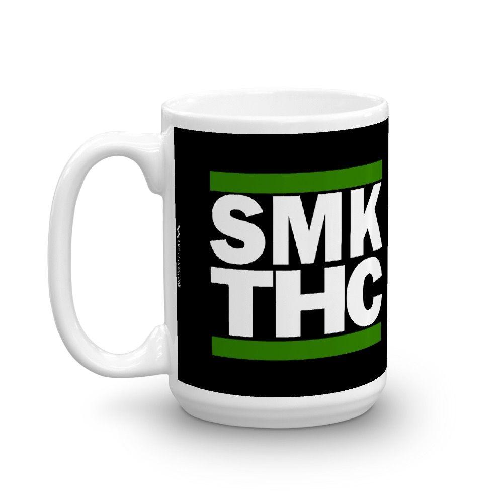 SMK THC Mug Black 15oz Left