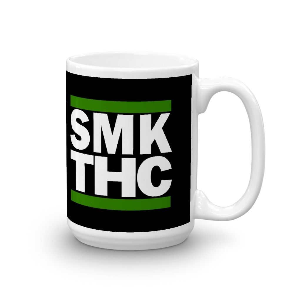 SMK THC Mug Black 15oz Right