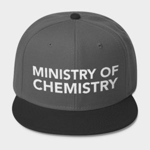 Ministry of Chemistry Cap Black Gray