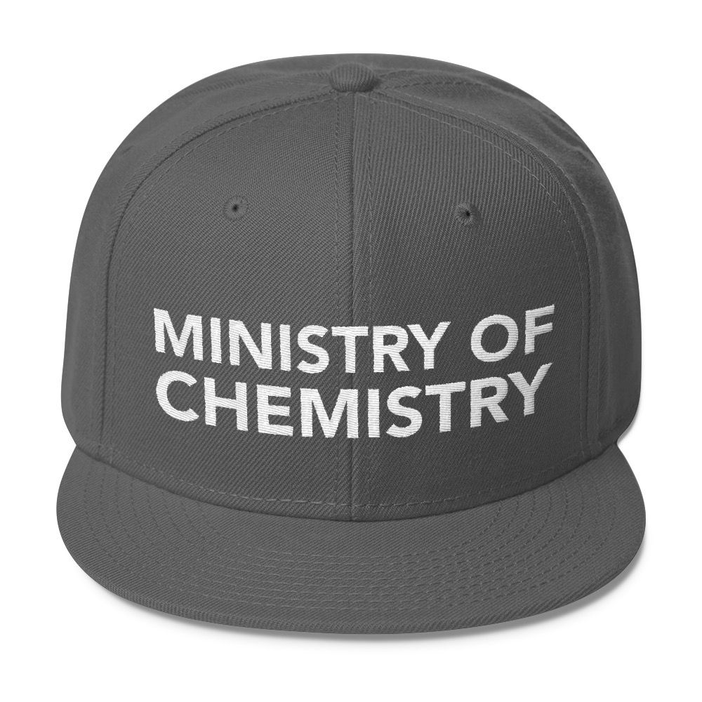Ministry of Chemistry Snapback Char. Gray