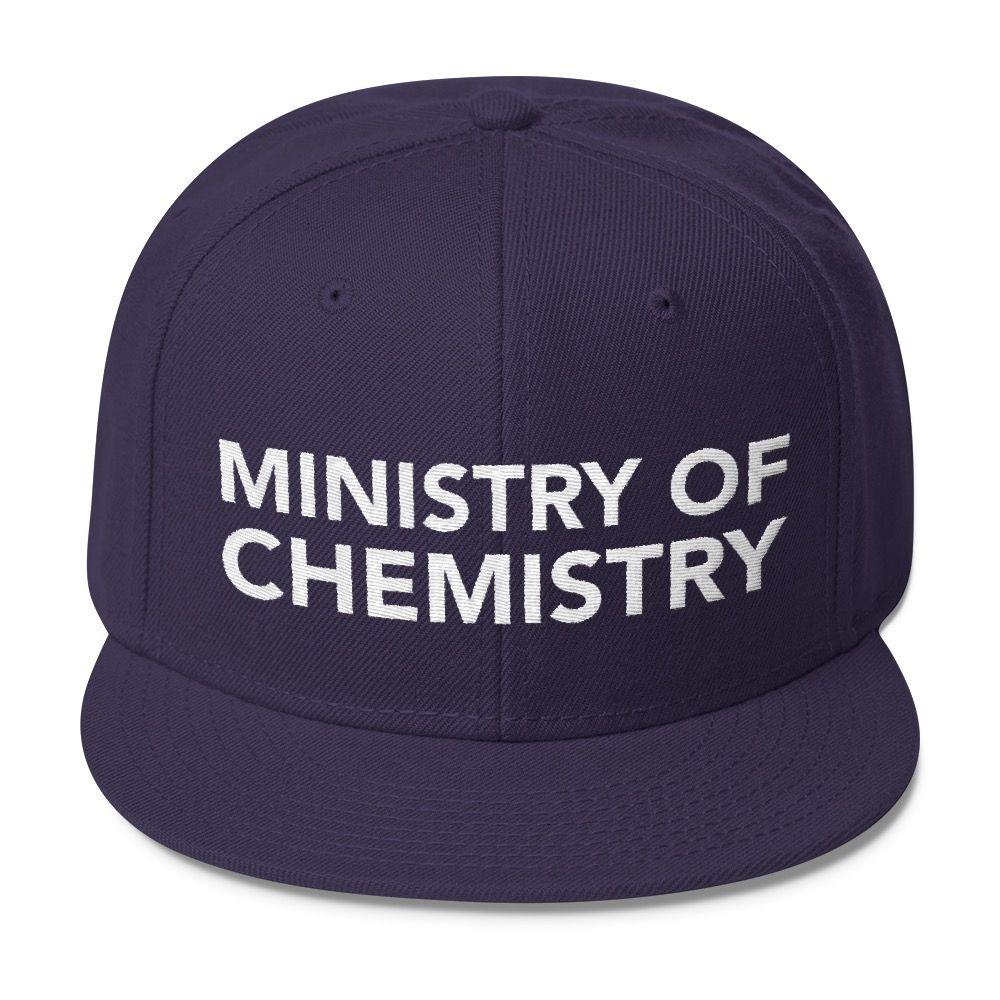 Ministry of Chemistry Snapback Navy