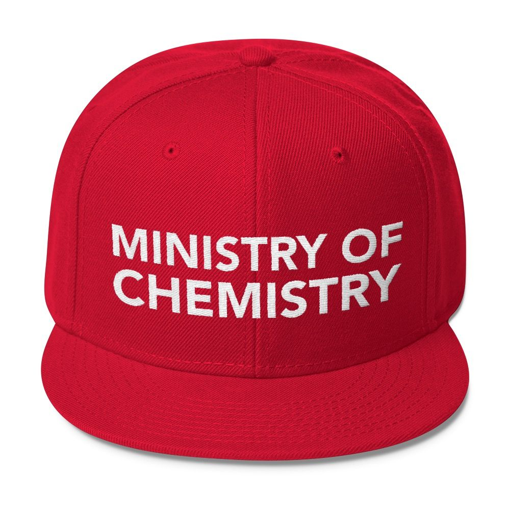 Ministry of Chemistry Snapback Red