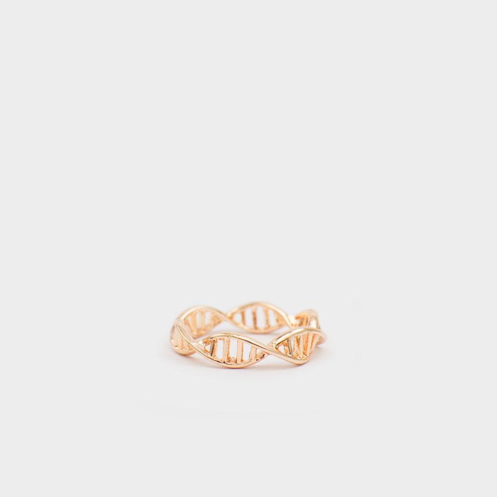 DNA Ring Rosegold