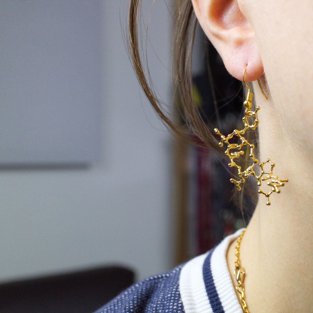 Oxytocin Earring Gold invivo