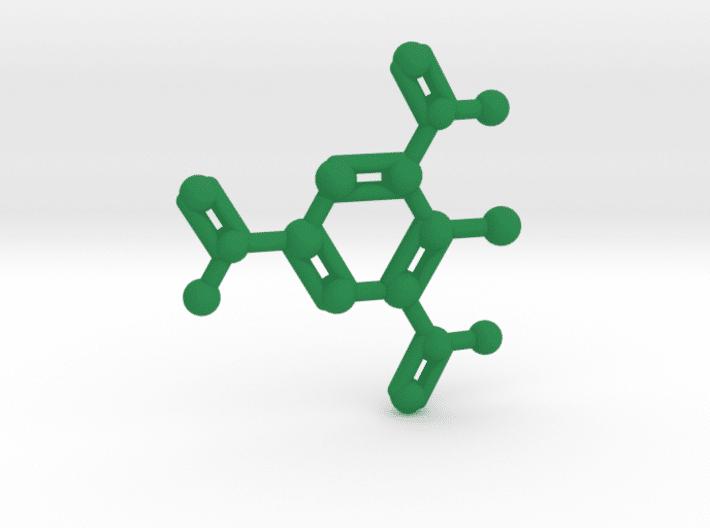TNT Molecule Green Plastic