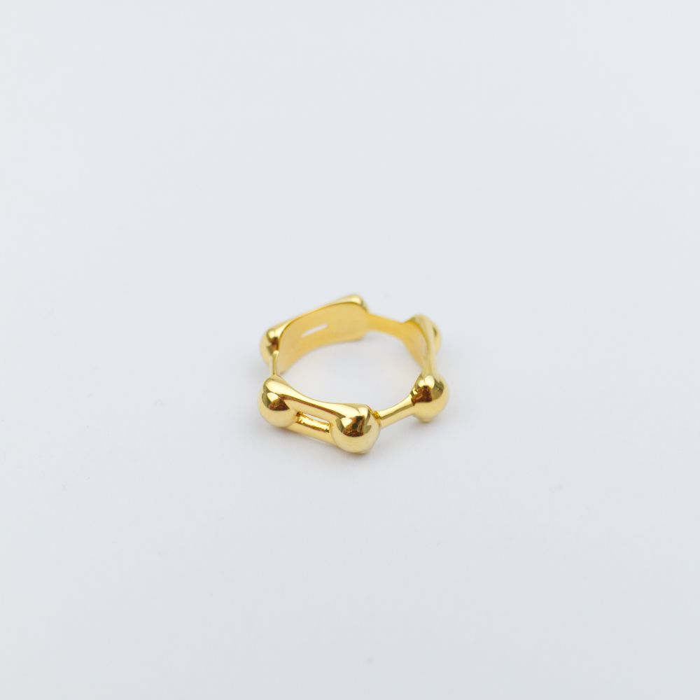 Gold Tote Ring
