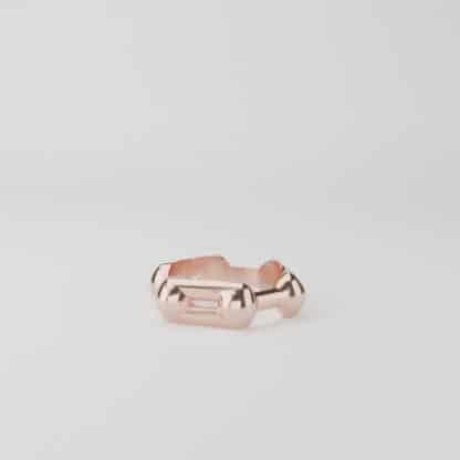 Benzene Ring Ring Rose Gold