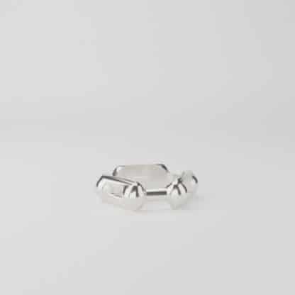 Benzene Ring Ring Sterling Silver
