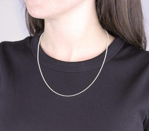 Silver bead chain Molecule Store