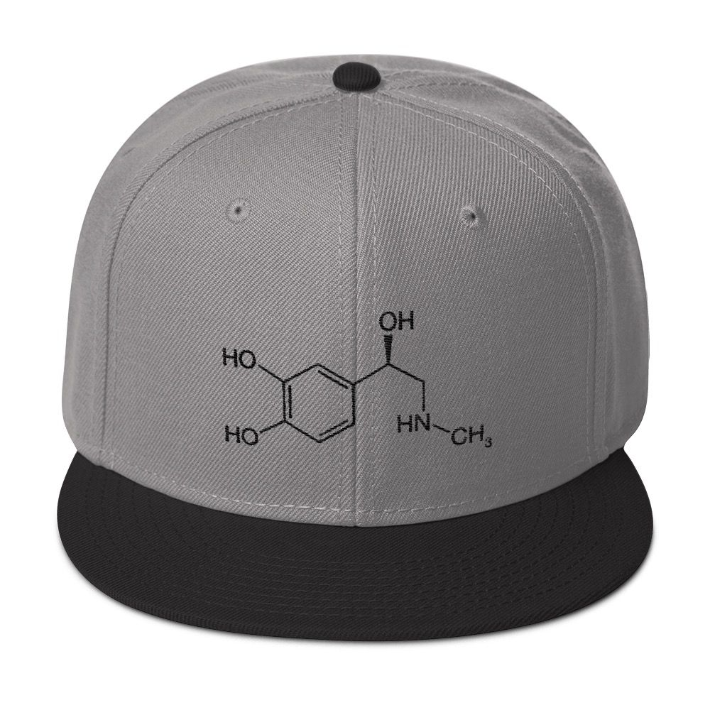 Adrenaline Molecule Cap Grey Black