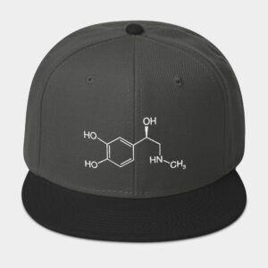 Adrenaline Molecule Cap Grey