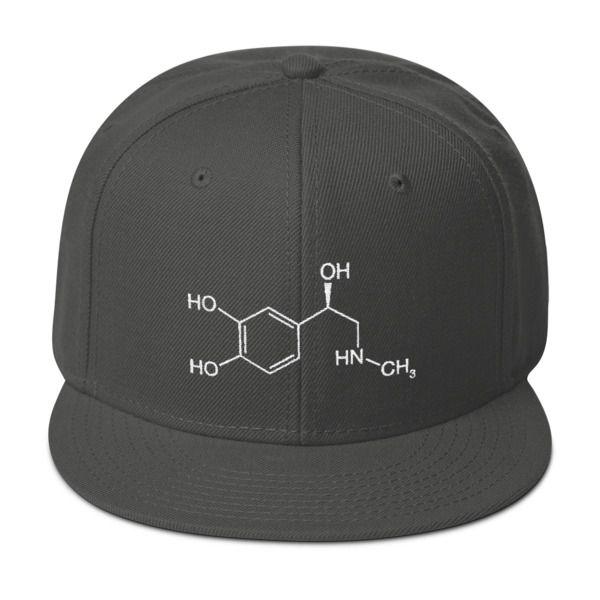 Adrenaline Molecule Cap Dark