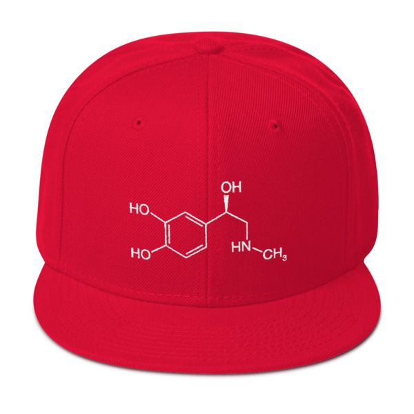 Adrenaline Molecule Cap Red