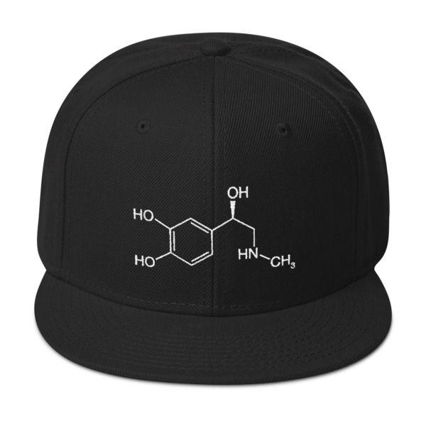 Adrenaline Molecule Cap Black