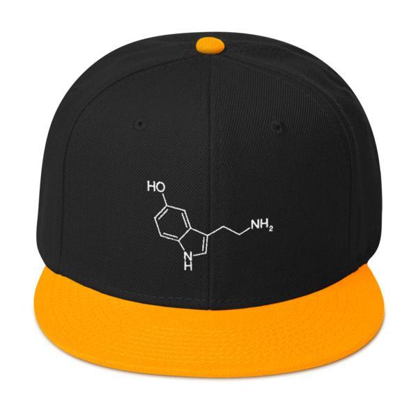 Serotonin Molecule Cap Snapback