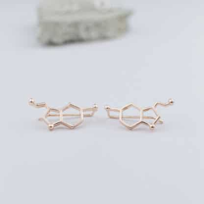Serotonin Earrings Rosegold