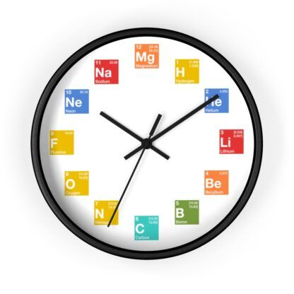 Periodic Table of Elements Clock
