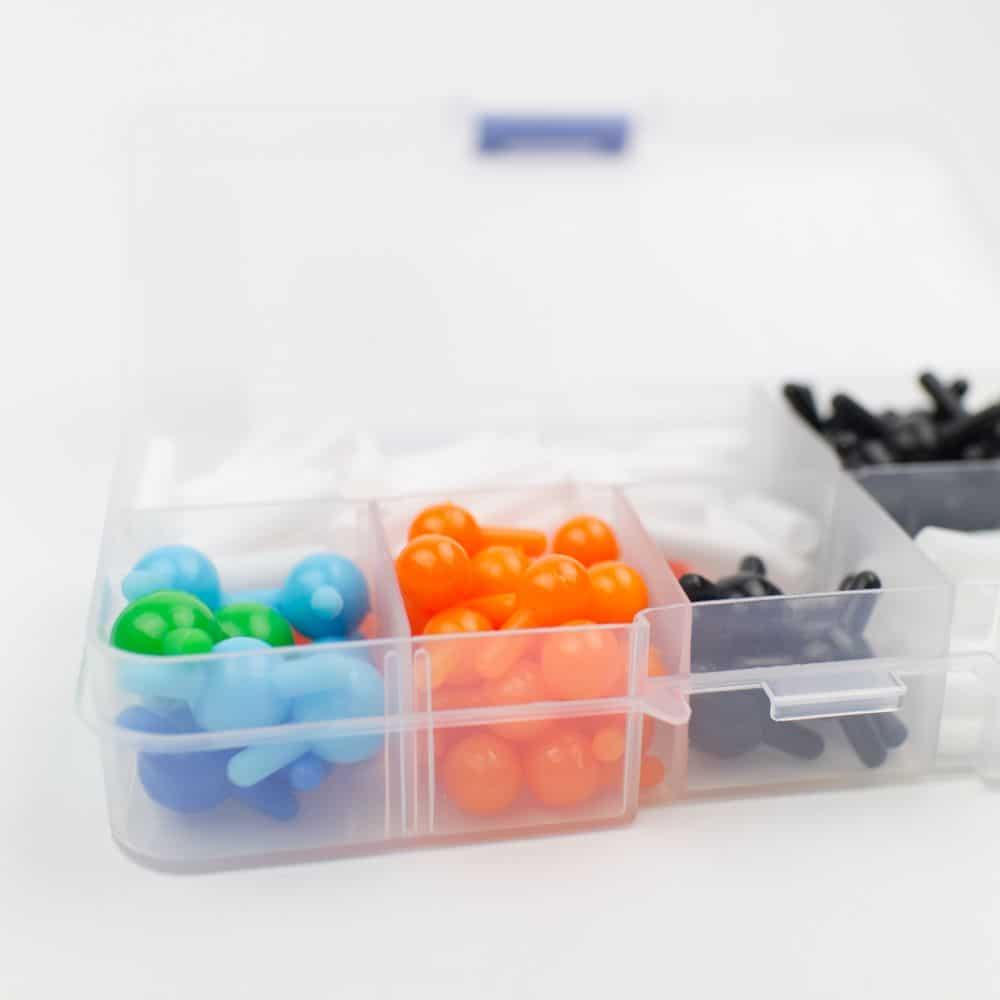 Molecule Model Set 135 Parts Details